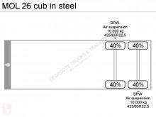 Zobaczyć zdjęcia Naczepa MOL 26 cub in steel