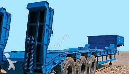 Semi remorque tfa tank porte engins pe 60 tonnes neuve n for Porte engin 60 tonnes