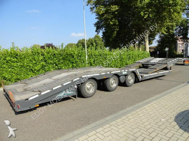 Semi remorque nc porte voitures vs mont lkw transporter 3 essieux occasion n 1119046 - Remorque porte voiture 3 essieux ...