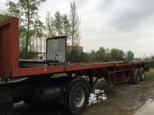 used Trailor flatbed semi-trailer EXTENSIBLE 18M500 2 axles - n°1642492 - Picture 2