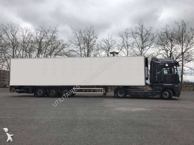 used lecitrailer mono temperature refrigerated semi trailer carrier semi remorque frigorifique. Black Bedroom Furniture Sets. Home Design Ideas