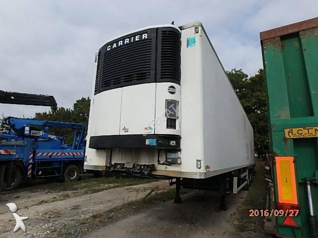Semi remorque trailor frigo carrier mono temp rature frigo - Temperature du frigo ...