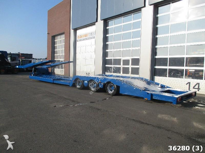 Semi remorque vs mont porte voitures truck transporter 3 essieux occasion n 2128814 - Remorque porte voiture 3 essieux ...