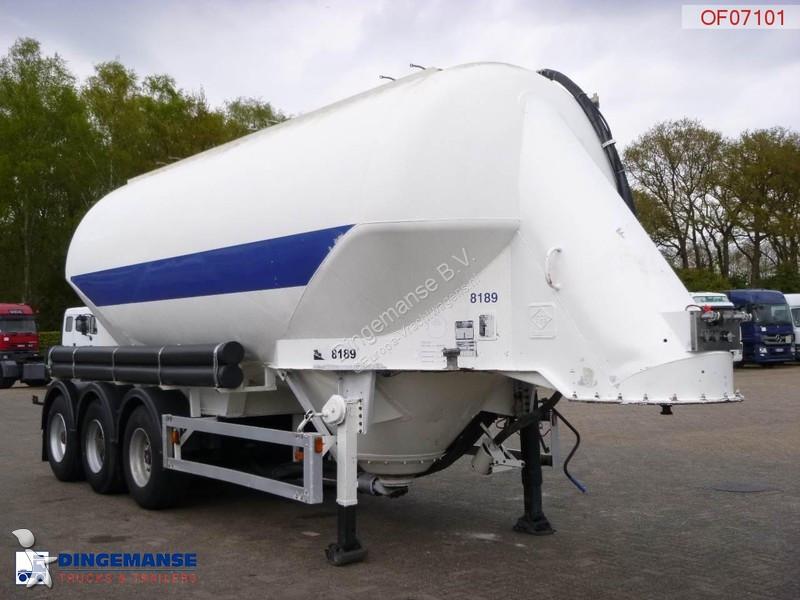 gebrauchter feldbinder auflieger tankfahrzeug bulk tank. Black Bedroom Furniture Sets. Home Design Ideas