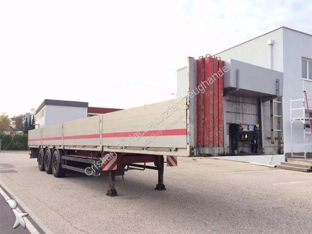 Rub Baustoffe used schwarzmüller dropside flatbed semi trailer spa3 baustoff