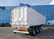semirimorchio Tisvol ribaltabile trasporto cereali AA6-1030220-HE3 3 assi nuovo - n°2512053 - Foto 2