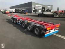 Voir les photos Semi remorque D-TEC Combitrailer 5 essieux pour containers 2x20\' a quai - 40/45 highcube -