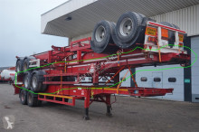 Voir les photos Semi remorque Fruehauf Container chassis 2-assig/40,20,2x20ft
