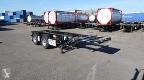 Voir les photos Semi remorque Krone 20FT, ADR, leeggewicht: 3.120kg, NL-chassis
