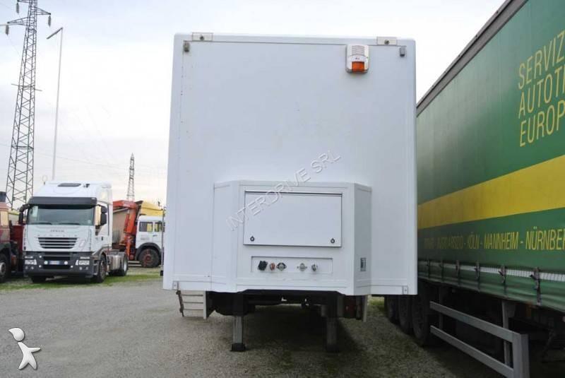 Autre semi leveques semirimorchio 10m monoasse racing for Mobile ufficio usato
