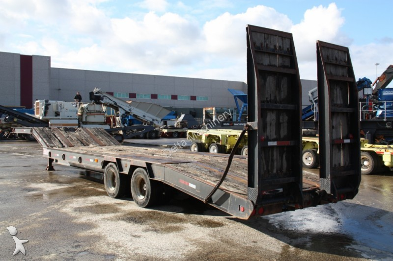 Semi remorque nc porte engins trail 35 ton occasion n for Porte engin 60 tonnes