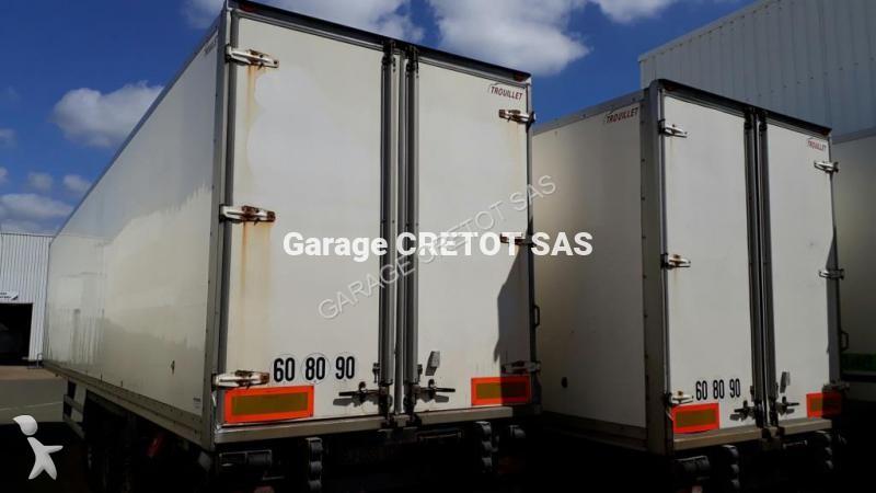 Semi remorque trouillet fourgon srt srd339c 3 essieux for Garage julien pizancon occasion