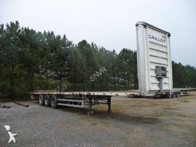 semi remorque fruehauf plateau plateau 3 essieux 3 essieux occasion n 2353320. Black Bedroom Furniture Sets. Home Design Ideas