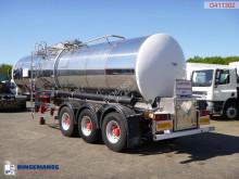 Bekijk foto's Trailer nc Food tank inox 30 m3 / 1 comp + pump