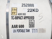 used Van Hool tanker semi-trailer 25.000L TC, 2 comp. (7.500L+17.500L), UN Portable T11 - n°2984230 - Picture 3