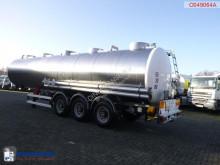 Voir les photos Semi remorque Magyar Chemical tank inox 34.6 M3 / 1 comp