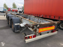 View images Trouillet Plateau 2 x 20 ft / 1 x 40 ft semi-trailer