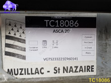 Voir les photos Semi remorque Asca 20\' Container Transport