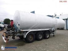 Voir les photos Semi remorque Fruehauf Bitumen tank steel 31 m3 / 1 comp / ADR/GGVS