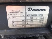 Voir les photos Semi remorque Krone Containerchassis BPW-assen