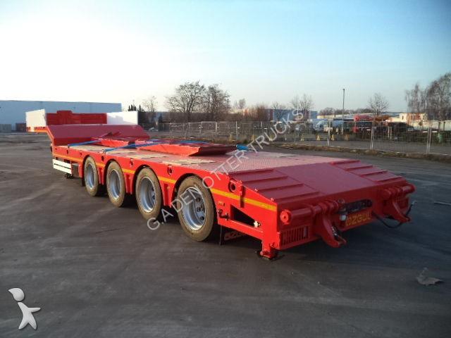Semi remorque ozgul porte engins l13 60 ton lowbed new for Porte engin 60 tonnes
