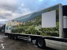 semi remorque Lamberet frigo Carrier mono température 3 essieux hayon occasion - n°1943947 - Photo 5