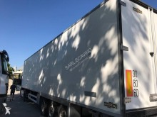 used Chereau multi temperature refrigerated semi-trailer Carrier SEMI FRIGORIFIQUE - 33 PALETTES + HAYON 3 axles rear hatch - n°2771781 - Picture 5