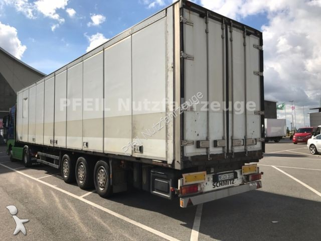 used schmitz cargobull box semi trailer sko 24 faltwand liftachse