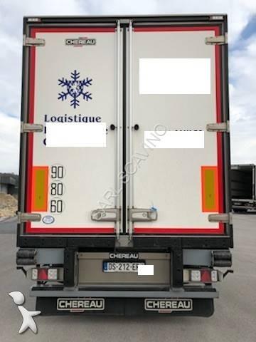 semi remorque chereau frigo carrier multi temp rature multi temperatures 33 palettes 3 essieux. Black Bedroom Furniture Sets. Home Design Ideas
