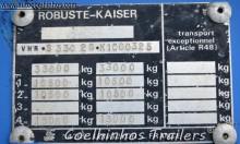 Voir les photos Semi remorque Kaiser S330 2G 1C