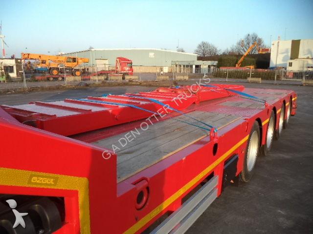 Semi remorque ozgul porte engins l13 60 ton lowbed new for Porte char 60 tonnes