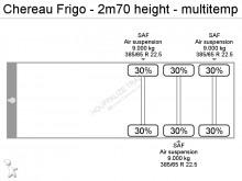 Ver las fotos Semirremolque Chereau Frigo - 2m70 height - multitemp