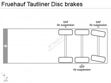 View images Fruehauf Tautliner Disc brakes semi-trailer