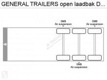 Voir les photos Semi remorque General Trailers open laadbak Disc brakes