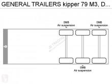 Voir les photos Semi remorque General Trailers kipper 79 M3, Disc brakes