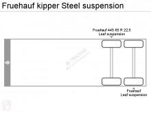 Voir les photos Semi remorque Fruehauf kipper Steel suspension