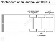 Voir les photos Semi remorque Nooteboom open laadbak 42000 KG, 12.25 - 17,00 mtr, 4,75 mtr Extendable