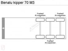 Vedere le foto Semirimorchio Benalu kipper 70 M3