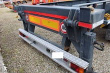 Zobaczyć zdjęcia Naczepa Piacenza semirimorchio porta container ribaltabile