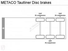 Voir les photos Semi remorque Metaco Tautliner Disc brakes