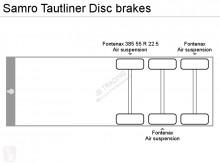 Voir les photos Semi remorque Samro Tautliner Disc brakes