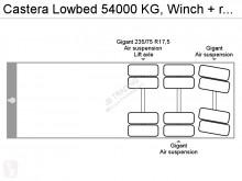 Zobaczyć zdjęcia Naczepa Castera Lowbed 54000 KG, Winch + remote