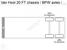 Voir les photos Semi remorque Van Hool 20 FT chassis / BPW axles / air suspension