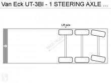 Voir les photos Semi remorque Van Eck UT-3BI - 1 STEERING AXLE - 1 LIFT AXLE - DISC BRAKES - GOOD CONDITION -