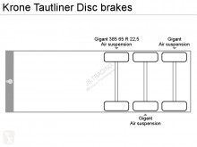 Voir les photos Semi remorque Krone Tautliner Disc brakes