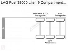 Voir les photos Semi remorque LAG Fuel 38000 Liter, 9 Compartments, 0,37 bar