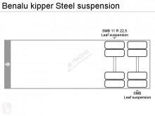 Voir les photos Semi remorque Benalu kipper Steel suspension