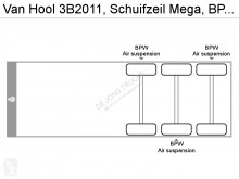 Voir les photos Semi remorque Van Hool 3B2011, Schuifzeil Mega, 3x in stock, BPW, NL trailer