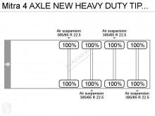 Voir les photos Semi remorque nc 4 AXLE NEW HEAVY DUTY TIPPER TRAILER