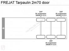 Voir les photos Semi remorque Frejat Tarpaulin 2m70 door